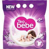 Detergent rufe copii Teo Bebe Cotton Soft Purple compact lavender automat 20spalari 1.5kg